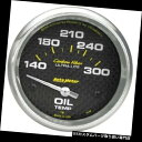 USタコメーター オートメーター4848炭素繊維空芯油温計 Auto ...