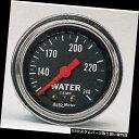 USタコメーター 自動メートル2432の従来のクロム機械水温のゲ...