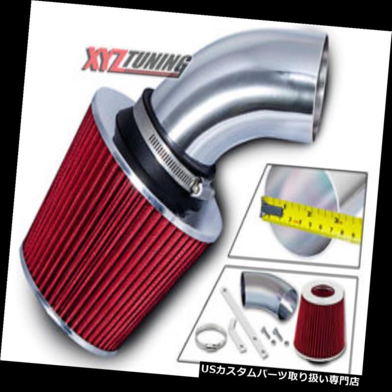 RED COLD AIR INTAKE KIT+DRY FILTER FOR DODGE 95-00 AVENGER 2.0L 2.5L