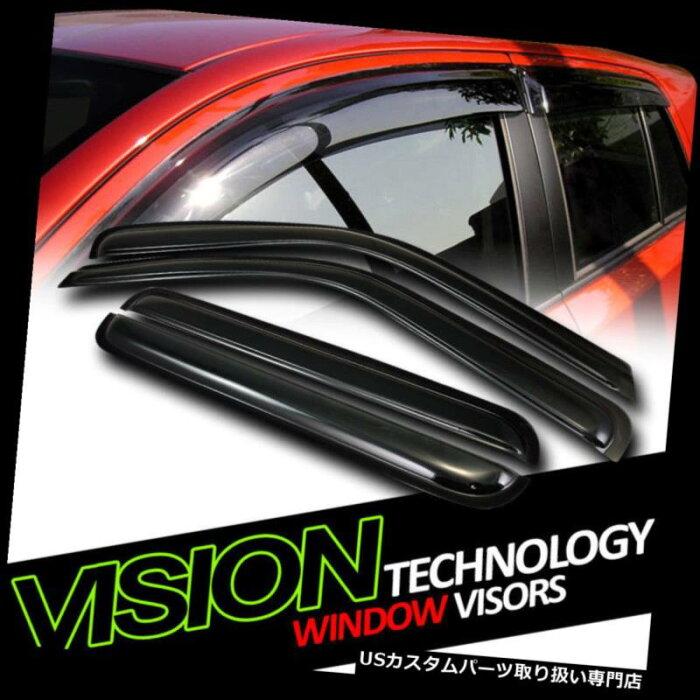 ベントバイザー ドアバイザー レインガード JDMレイン/ウィンドガードベントシェードデフレクターウィンドウバイザー92-00シボレー/ GMC C / K C10 JDM Rain/Wind Guard Vent Shade Deflector Window Visors 92-00 Chevy/GMC C/K C10