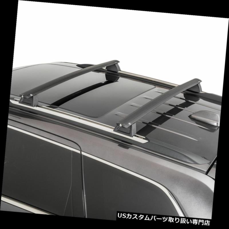For 2011-2018 Jeep Grand Cherokee Roof Top Bar Aluminum Cross Rack Black