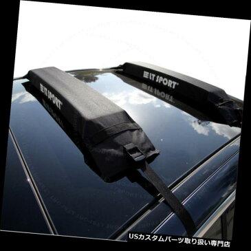 カーゴ ルーフ キャリア フィット06-14ボルボXC60ソフト屋上クロスバーカヌーサーフボードスノーボードキャリア Fit 06-14 Volvo XC60 Soft Rooftop Cross Bars Canoe Surboard Snowboard Carrier