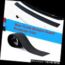 リアバンパー プロテクター BMWのための黒い後部トランクプロテクタートリムバンパー装飾ガードデカールステッカー Black Rear Trunk Protector Trim Bumper Decoration Guard Decal Sticker for BMW