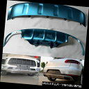 リアバンパー プロテクター ポルシェマカン2014用ステンレス製フロント+リアバンパースキッドプロテクターガードプレート Stainless Front+Rear Bumper Skid Protector Guard Plate For Porsche Macan 2014