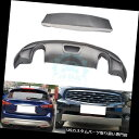 リアバンパー プロテクター Infiniti QX50用ステンレススチールフロント+リアバンパースキッドプロテクターガードプレート Stainless steel Front+Rear Bumper Skid Protector Guard Plate For Infiniti QX50