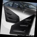 ウィンドウルーバー 2015-2018スバルWRX STI 4-DR ABSブラッ...