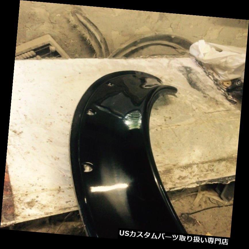 "3/"" NEW School JDM Fender Flares Universal fiberglass 4pcs"