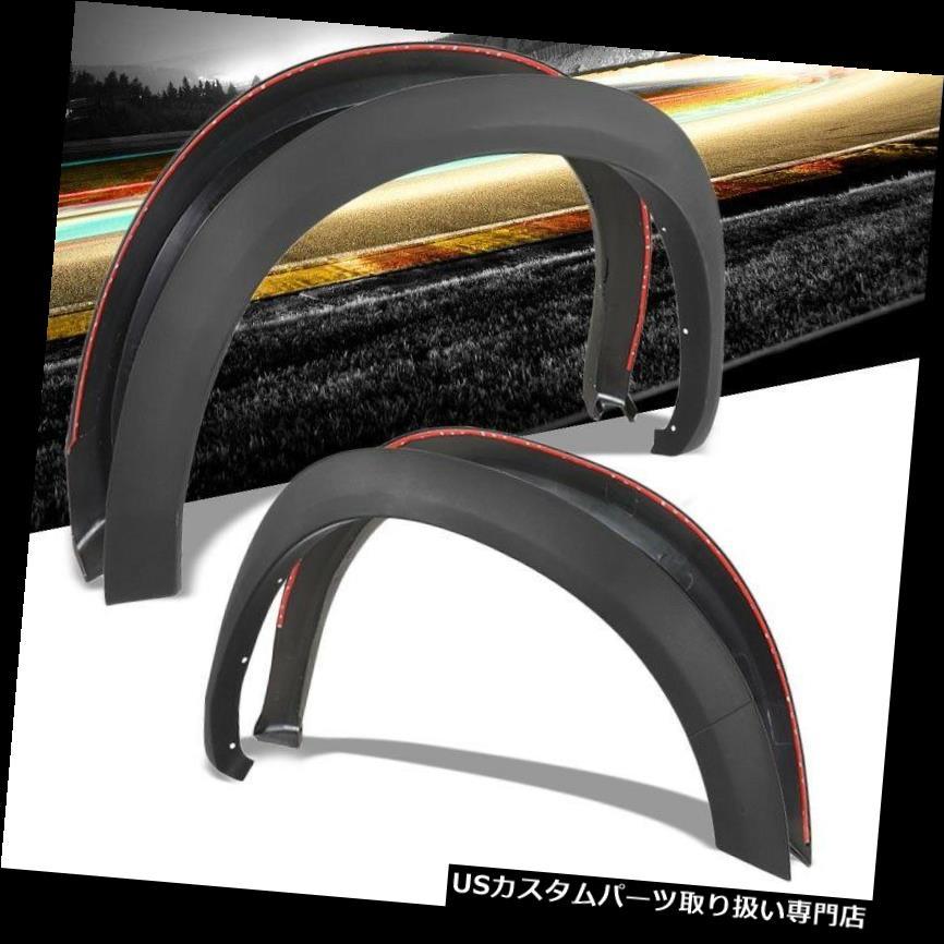 Matte Black Custom OE Style Fender Flares Wheel Cover for 10-18 Ram 2500//3500