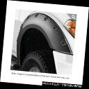 オーバーフェンダー ブッシュワッカー20105 - 02フロントフェンダーフレアポケットスタイル2017フォードスーパーデューティ Bushwacker 20105-02 Front Fender Flares Pocket Style For 2017 Ford Super Duty