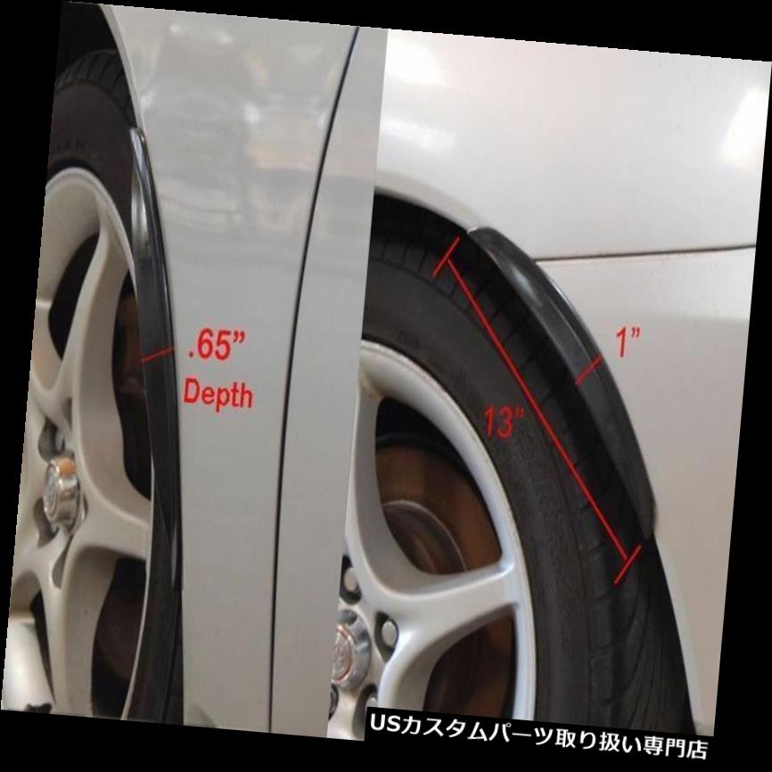 "13/"" Pair Diffuser Wide Body Fender Flares For Mini Wheel Wall Panel Bumper"