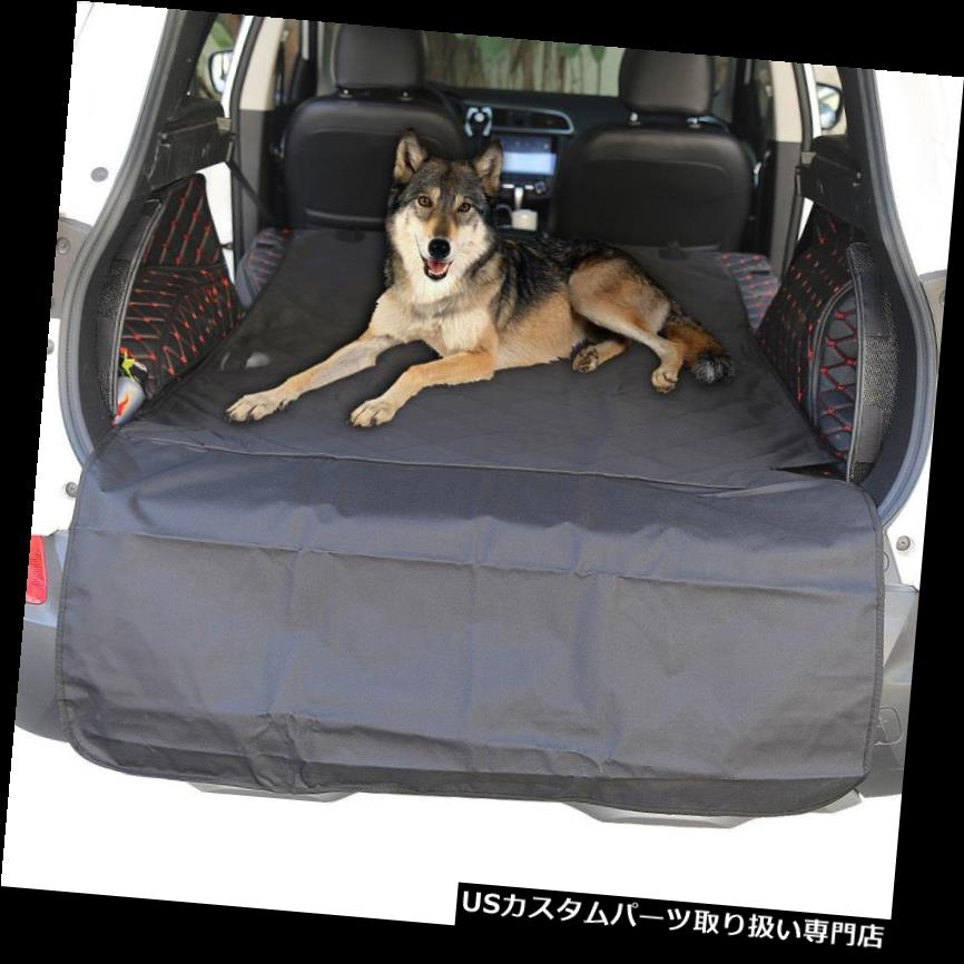 リアーカーゴカバー 米国78 * 42 ''車suvトランク貨物ブーツ後部ライナーマットペット犬猫カバー防水 US 78*42'' Car SUV Trunk Cargo Boot Rear Liner Mats Pet Dog Cat Cover Waterproof