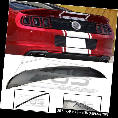 GTウィング 10?14フォードマスタングのためのGT500スタイルカーボンファイバーリアトランクスポイラーウィング GT500 Style Carbon FIber Rear Trunk Spoiler Wing Lid For 10-14 Ford Mustang