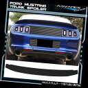 GTウィング マットブラックフィット10-14フォードマスタングG...