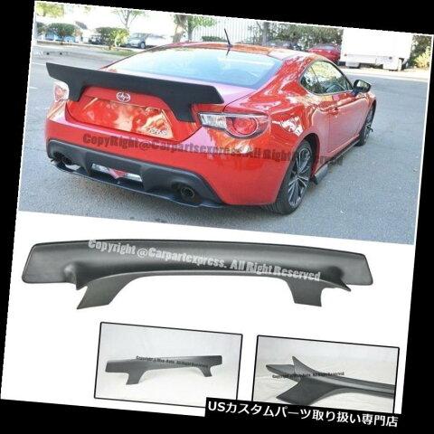 GTウィング 13-Up Scion FRS用 スバルBRZ RBスタイルV2リアトランクスポイラーリップウィングキット For 13-Up Scion FRS & Subaru BRZ RB Style V2 Rear Trunk Spoiler Lip Wing Kit