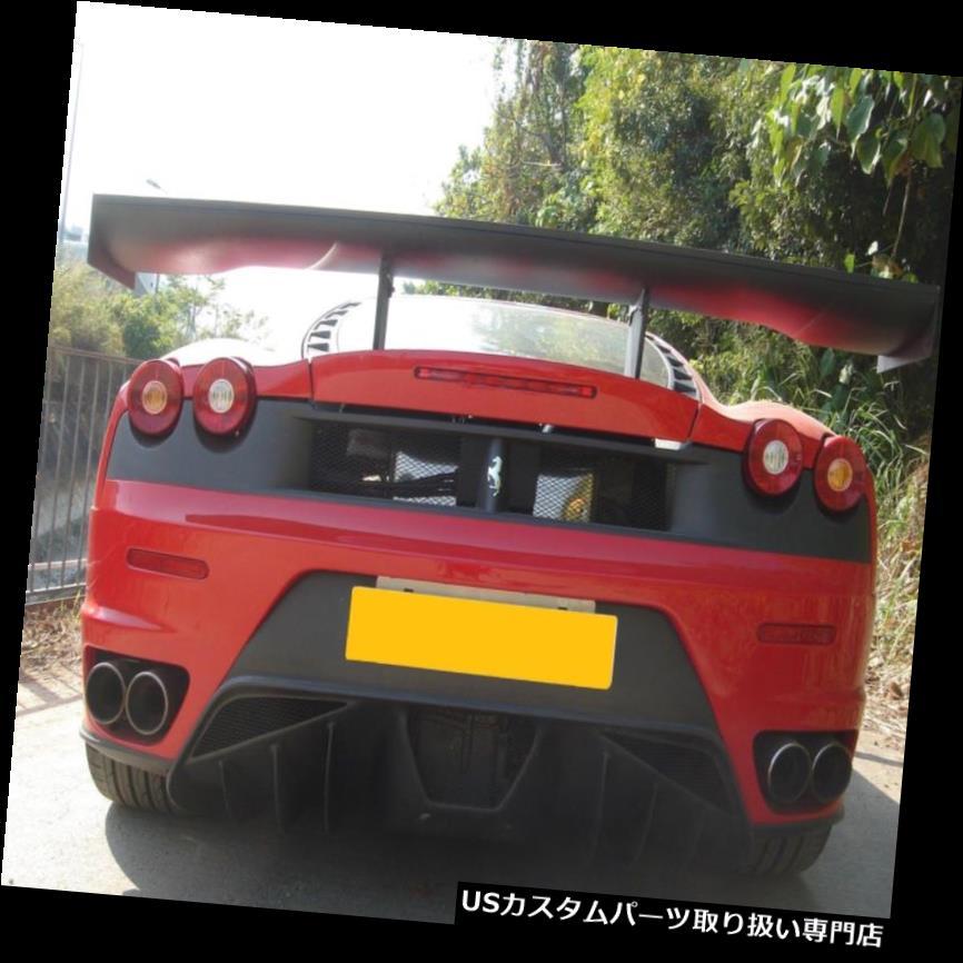 GTウィング FRデザインカーボンファイバーGTリアウィングスポイラーフィット用フェラーリ430 F430チャレンジ FR design carbon fiber GT rear wing spoiler fit for Ferrari 430 F430 challenge