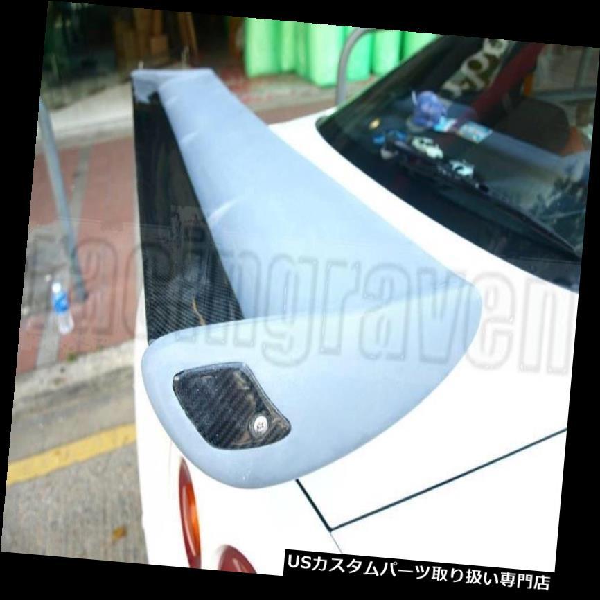 FOR  NISSAN R34 GTR Rear Wing Trunk Spoiler for Skyline GTT R33 GTS R32 350GT