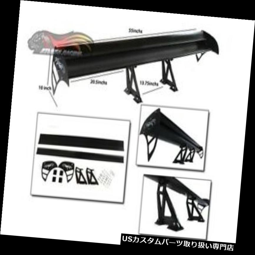 外装・エアロパーツ, ウィング GT RX2 RX3 RX4 RXGTS 7 RX8 R100 GT Wing Type S Racing Rear Spoiler BLACK For Mazda RX2RX3RX4RX7RX8R100