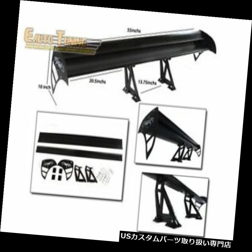 外装・エアロパーツ, ウィング GT GTSR300 R400 ra r Ram 50 GT Wing Type S Aluminum Spoiler BLACK For R300R400PolaraRaiderPower Ram 50