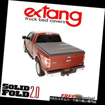トノーカバー トノカバー Extang Solid Fold 2.0ハード折りたたみトノカバー2015-2019 Sierra HD 8 'ベッド Extang Solid Fold 2.0 Hard Folding Tonneau Cover For 2015-2019 Sierra HD 8' Bed