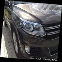 ヘッドライトカバー 2013 - 2015年フォルクスワーゲンティグアンSUVのABSのためのクロムヘッドライトフロントランプカバートリム Chrome Head Light Front Lamp Cover Trim for 2013-2015 Volkswagen Tiguan SUV ABS