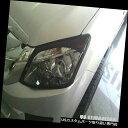 ヘッドライトカバー ブラックカーボンフロントヘッドランプカ...