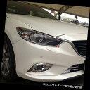 ヘッドライトカバー マツダ6 Atenza 2013 2014 2015 ABSクロ...