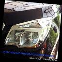 ヘッドライトカバー CHEVROLET CHEVY COLORADO 2012用クロム...