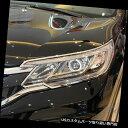 ヘッドライトカバー ホンダCR-V CRV 2015 2016 Sクロームフロ...