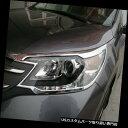 ヘッドライトカバー Honda CRV CR-V 2012-2014用クロームフロ...
