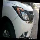 ヘッドライトカバー マツダBT-50プロ2012 2013年用マットブラ...