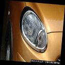 ヘッドライトカバー 日産向け2010-2012年3月クロームヘッドラ...
