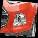 ヘッドライトカバー ABSクロムフロントヘッドフォグランプラ...