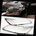 ヘッドライトカバー Honda Accord 9th 2013-2015 ABSクローム...
