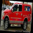USロッカーパネルカバー 2004-2008フォードF-150クルーキャブ...