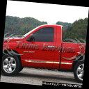 USロッカーパネルカバー 02-2008 Dodge Ramレギュラーキャブ...