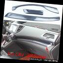 ダッシュボードマット ホンダCR-V CRV 2015用セントラルダッシュパネルカバートリムストリップカーボンファイバーカラー Central Dash Panel Cover Trim Strip Carbon Fiber Color For HONDA CR-V CRV 2015