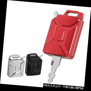 トライク カバー KTMの赤のための良質3D CNCのオイルタンクの形のオートバイのキーカバーのキーチェーン High-Quality 3D CNC Oil Tank Shape Motorcycle Key Cover Keychain For KTM Red