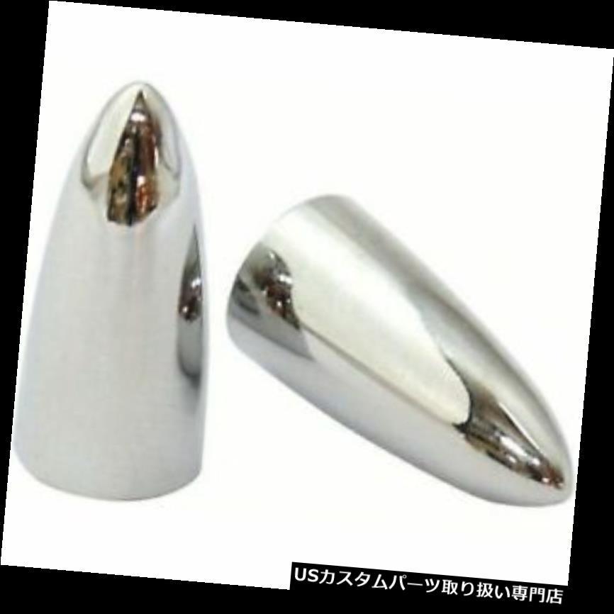 ATV・トライク・スノーモービル, その他  ke Chrome PikeBullet Tyre Valve Dust Cap Covers (Pair) for MotorcycleTrikeCar