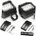 LEDライトバー 2ピース4インチ200ワットクリーled作業ライト...