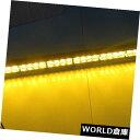 LEDライトバー 35.5インチ琥珀色黄色32 LED緊急警報灯バート...