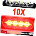 LEDライトバー 10×6 led車トラック緊急ビーコン警告フラッシ...