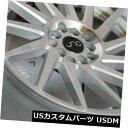 海外輸入ホイール 19x8.5シルバーマシンの顔。 ホイールJNC 051 JNC051 5x112 30(4個セット) 19x8.5 Silver Machine Face. Wheels JNC 051 JNC051 5x112 30 (Set of 4)