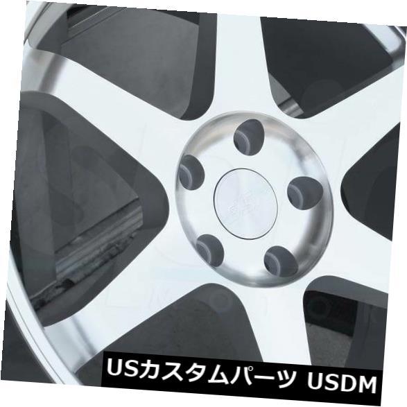 "4-New 18/"" ESR SR07 SR7 Wheels 18x10.5 5x114.3 22 Gloss Black Rims"