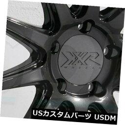 海外輸入ホイール 20x9 XXR 527D 5x114.3 35グラファイトホイールリムセット(4) 20x9 XXR 527D 5x114.3 35 Graphite Wheels Rims Set(4)