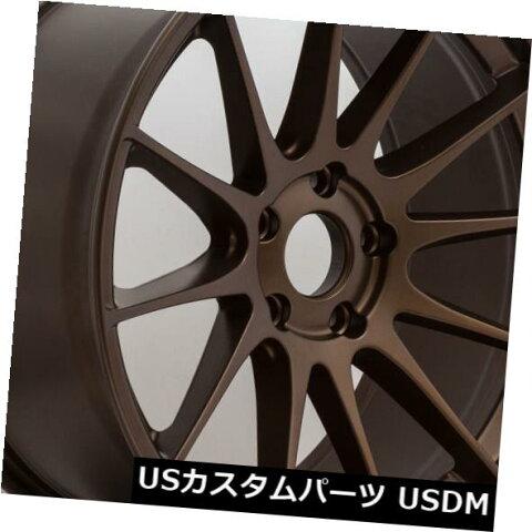 海外輸入ホイール Ground Force GF6 19x8.5 5x112ブロンズホイール(4個セット) Ground Force GF6 19x8.5 5x112 Bronze Wheels (set of 4)