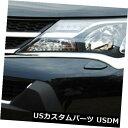 アイライン トヨタRAV4 2013 2014 2015クロームフロントヘッドライトランプまぶたカバートリム For Toyota RAV4 2013 2014 2015 Chrome Front Head Light Lamp Eyelids Cover Trim