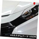 アイライン 塗装済みのホンダHRV HR-V 16-19ハッチバックフロ...