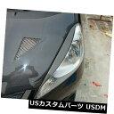 アイライン 2009-2012ホンダジャズフィットJDM 2012の炭素繊...