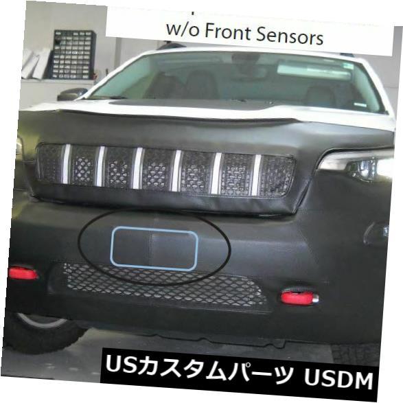 新品 Lebraフロントマスクカバーブラジャーは2019年型ジープチェロキートレイルホーク(フロントセンサーなし)に適合 Lebra Front Mask Cover Bra Fits 2019 Jeep Cherokee Trailhawk w/o Front Sensors画像