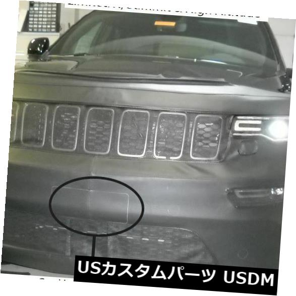 新品 Lebraフロントエンドマスクブラジャー17-19ジープグランドチェロキーサミット、リミテッドX、HAに適合 Lebra Front End Mask Bra Fits 17-19 Jeep Grand Cherokee Summit. Limited X. HA画像